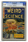 Golden Age (1938-1955):Horror, Weird Science #18 Al Williamson File Copy (EC, 1953) CGC GD/VG 3.0Light tan to off-white pages. Wally Wood cover. Wood, Jac...
