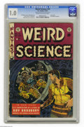 Golden Age (1938-1955):Science Fiction, Weird Science #19 Al Williamson File Copy (EC, 1953) CGC FR 1.0Cream to off-white pages. Wally Wood cover. Interior art by ...
