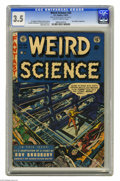 Golden Age (1938-1955):Science Fiction, Weird Science #20 Al Williamson File Copy (EC, 1953) CGC VG- 3.5Slightly brittle pages. Wally Wood cover. Art by the team o...