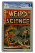 Golden Age (1938-1955):Science Fiction, Weird Science #21 Al Williamson File Copy (EC, 1953) CGC VG 4.0Slightly brittle pages. Al Williamson and Frank Frazetta tea...