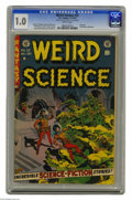 Golden Age (1938-1955):Horror, Weird Science #22 Al Williamson File Copy (EC, 1953) CGC FR 1.0Brittle pages. Last issue of the title. Wally Wood cover. Ar...