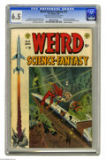 Golden Age (1938-1955):Science Fiction, Weird Science-Fantasy #23 Al Williamson File Copy (EC, 1954) CGCFN+ 6.5 Cream to off-white pages. This is the first combine...