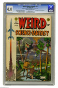 Golden Age (1938-1955):Science Fiction, Weird Science-Fantasy #25 Al Williamson File Copy (EC, 1954) CGC VG4.0 Cream to off-white pages. Assigning art duties for t...