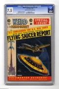 Golden Age (1938-1955):Science Fiction, Weird Science-Fantasy #26 Al Williamson File Copy (EC, 1954) CGCVF- 7.5 Light tan to off-white pages. With a Flying Saucer ...