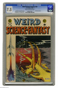 Golden Age (1938-1955):Science Fiction, Weird Science-Fantasy Al Williamson File Copy #28 (EC, 1955) CGCVF- 7.5 Cream to off-white pages. Al Williamson's artwork f...