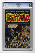 Golden Age (1938-1955):Horror, The Beyond #3 Bethlehem pedigree (Ace, 1951) CGC NM- 9.2 Off-white pages. Mike Sekowsky art. A certificate of authenticity f...