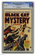 Golden Age (1938-1955):Horror, Black Cat Mystery #30 File Copy (Harvey, 1951) CGC NM+ 9.6 Cream tooff-white pages. Titular superheroine the Black Cat may ...