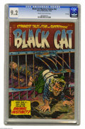 Golden Age (1938-1955):Horror, Black Cat Mystery #52 File Copy (Harvey, 1954) CGC NM- 9.2 Cream tooff-white pages. Bob Powell, Rudy Palais, Joe Certa, and...