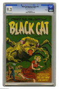 Golden Age (1938-1955):Horror, Black Cat Mystery #53 File Copy (Harvey, 1954) CGC NM- 9.2 Cream tooff-white pages. Bob Powell, Joe Certa, and Rudy Palais ...