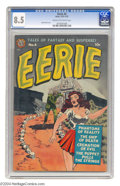 Golden Age (1938-1955):Horror, Eerie #4 (Avon, 1951) CGC VF+ 8.5 Cream to off-white pages.Collectors have discovered that this Avon title features work by...