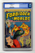 "Golden Age (1938-1955):Science Fiction, Forbidden Worlds #2 (ACG, 1951) CGC NM 9.4 Off-white to whitepages. This seldom-seen ACG comic is a Gerber ""7"", meaning tha..."