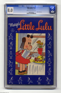 Four Color #115 Marge's Little Lulu (Dell, 1946) CGC VF 8.0 Cream to off-white pages. Only one copy of this issue has be...