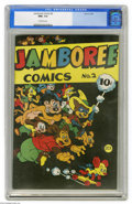 Golden Age (1938-1955):Funny Animal, Jamboree Comics #2 (Round, 1946) CGC NM+ 9.6 Off-white pages. Thesecond of only three issues of this funny animal series. T...