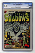 Golden Age (1938-1955):Horror, Out Of The Shadows #5 (#1) Bethlehem pedigree (Standard, 1952) CGCVF/NM 9.0 Cream to off-white pages. Here's the first issu...