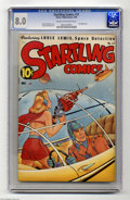 Golden Age (1938-1955):Science Fiction, Startling Comics #51 (Better Publications, 1948) CGC VF 8.0 Creamto off-white pages. Alex Schomburg cover. Overstreet 2004 ...