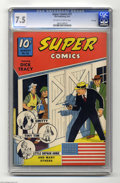 Golden Age (1938-1955):Adventure, Super Comics #51 File Copy (Dell, 1942) CGC VF- 7.5 Off-white to white pages. Dick Tracy cover and story. Little Orphan Anni...