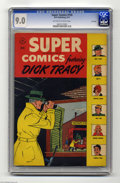 Golden Age (1938-1955):Miscellaneous, Super Comics #109 File Copy (Dell, 1947) CGC VF/NM 9.0 Off-white to white pages. Dick Tracy cover and story. Little Orphan A...