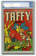 Golden Age (1938-1955):Funny Animal, Taffy Comics #1 Mile High pedigree (Rural Home, 1945) CGC VF/NM 9.0Off-white to white pages. L. B. Cole churned out spectac...