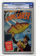 Golden Age (1938-1955):Science Fiction, Vic Torry & His Flying Saucer #nn Bethlehem pedigree (Fawcett,1950) CGC NM- 9.2 Cream to off-white pages. Dig this issue's ...