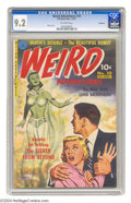 Golden Age (1938-1955):Horror, Weird Adventures #10 Bethlehem pedigree (Ziff-Davis, 1951) CGC NM-9.2 Off-white pages. A pulp-style painted cover by Phil M...