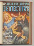Platinum Age (1897-1937):Miscellaneous, Black Book Detective Pulp - Bound Volume (Standard, 1944). This bound volume contains the Winter/44; Spring/44; Summer/44; a...