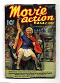 "Platinum Age (1897-1937):Miscellaneous, Movie Action Magazine #1 (Street & Smith, 1935) Condition: VG+.Painted cover based on a scene from the film ""The Last Days ..."