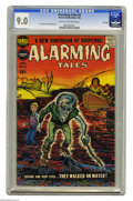 Golden Age (1938-1955):Horror, Alarming Tales #3 File Copy (Harvey, 1958) CGC VF/NM 9.0 Cream tooff-white pages. Jack Kirby art graces the interior of thi...