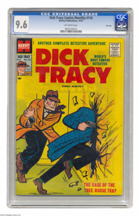 Dick Tracy Comics Monthly #116 File Copy Harvey, 1957) CGC NM+ 9.6 Off-white pages. This is easily one of the nicest cop...