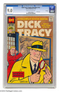 Silver Age (1956-1969):Adventure, Dick Tracy Comics Monthly #122 File Copy (Harvey, 1958) CGC VF/NM 9.0 Cream to off-white pages. The cover looks to be a high...