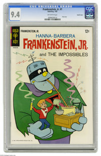 Frankenstein, Jr. #1 Pacific Coast pedigree (Gold Key, 1967) CGC NM 9.4 Off-white pages. Some of these 1960s Gold Key on...