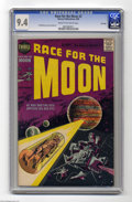 Silver Age (1956-1969):Science Fiction, Race For the Moon #2 File Copy (Harvey, 1958) CGC NM 9.4 Cream tooff-white pages. Can you think of a better artistic pairin...