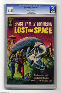 Space Family Robinson #15 Northland pedigree (Gold Key, 1966) CGC NM/MT 9.8 Off-white to white pages. A painted cover, i...