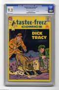 Silver Age (1956-1969):Miscellaneous, Tastee-Freez Comics #6 Dick Tracy - File Copy (Harvey, 1957) CGCNM- 9.2 Cream to off-white pages. Last issue. This is the o...