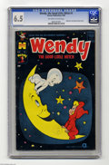 Silver Age (1956-1969):Cartoon Character, Wendy, the Good Little Witch #1 (Harvey, 1960) CGC FN+ 6.5 Off-white to white pages. Casper, Nightmare, and Spooky appear. O...