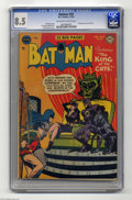 """Golden Age (1938-1955):Superhero, Batman #69 (DC, 1952) CGC VF+ 8.5 Off-white to white pages. A great Catwoman cover by Win Mortimer introduces """"The King of t..."""