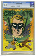 Golden Age (1938-1955):Superhero, Green Lantern #2 (DC, 1941) CGC VF/NM 9.0 White pages. It's the first book-length Green Lantern story! The hero's all smiles...