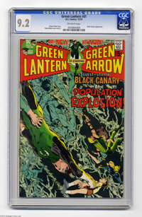 Green Lantern #81 (DC, 1970) CGC NM- 9.2 Off-white pages. Neal Adams cover and art. Overstreet 2004 NM- 9.2 value = $75...