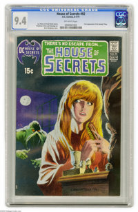 House of Secrets #92 (DC, 1971) CGC NM 9.4 Off-white pages. The most valuable DC comic of the Bronze Age is this one rig...