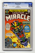 Bronze Age (1970-1979):Superhero, Mister Miracle #1 (DC, 1971) CGC NM+ 9.6 White pages. First appearances of Mister Miracle and Oberon. Jack Kirby story, cove...