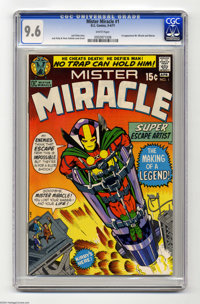 Mister Miracle #1 (DC, 1971) CGC NM+ 9.6 White pages. First appearances of Mister Miracle and Oberon. Jack Kirby story...