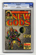 Bronze Age (1970-1979):Superhero, The New Gods #1 (DC, 1971) CGC NM+ 9.6 White pages. First appearances of Orion, Lightray, Metron, Highfather, and Kalibak. J...