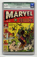 Golden Age (1938-1955):Superhero, Marvel Mystery Comics #10 File Copy (Timely, 1940) Qualified FN 6.0 Cream to off-white pages. The first Human Torch-Sub Mari...