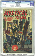 Silver Age (1956-1969):Horror, Mystical Tales #7 Bethlehem pedigree (Atlas, 1957) CGC NM+ 9.6 Off-white pages. The second to last issue. Cover blurbs tout ...