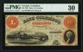 Obsoletes By State:Georgia, Columbus, GA- Bank of Columbus $50 Jan. 1, 1859 G60b PMG Very Fine 30.. ...