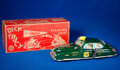 Memorabilia:Miscellaneous, Dick Tracy Siren Squad Car #1 with Flashing Light Toy in Original Box (Louis Marx and Company, 1949)....