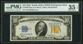Small Size:World War II Emergency Notes, Fr. 2308 $10 1934 Mule North Africa Silver Certificate. PMG Choice Very Fine 35 EPQ.. ...