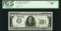 Fr. 2200-G $500 1928 Federal Reserve Note. PCGS Choice About New 55