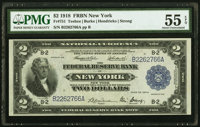 Fr. 751 $2 1918 Federal Reserve Bank Note PMG About Uncirculated 55 EPQ