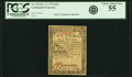 Colonial Notes:Continental Congress Issues, Continental Currency February 17, 1776 $2/3 PCGS Choice About New 55.. ...