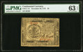 Continental Currency November 29, 1775 $5 PMG Choice Uncirculated 63 EPQ